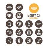 Icono del dinero Ilustración del vector Fotografía de archivo libre de regalías