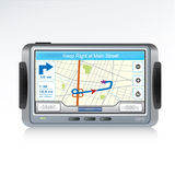Icono del dispositivo del GPS Imagen de archivo