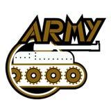 Icono del ejército Fotografía de archivo libre de regalías