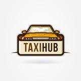 Icono del eje del taxi Fotos de archivo