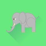 Icono del elefante Fotografía de archivo libre de regalías