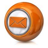 Icono del email Fotografía de archivo libre de regalías