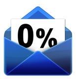 Icono del email Imagenes de archivo