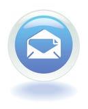 Icono del email del Web stock de ilustración