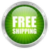 Icono del envío gratis Imagen de archivo libre de regalías