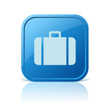 Icono del equipaje Imágenes de archivo libres de regalías