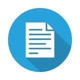 Icono del fichero ilustración del vector