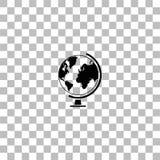 Icono del globo plano libre illustration
