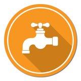 Icono del golpecito de agua Fotografía de archivo