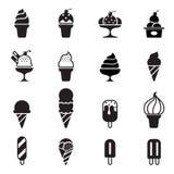 Icono del helado Fotos de archivo