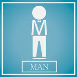 Icono del hombre fotos de archivo