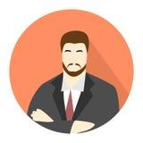 Icono del hombre de negocios Imagenes de archivo