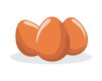 Icono del huevo Fotografía de archivo libre de regalías