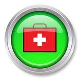 Icono del kit de primeros auxilios Foto de archivo libre de regalías
