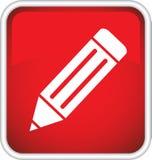 Icono del lápiz. Fotos de archivo