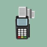 Icono del lector de tarjetas Imágenes de archivo libres de regalías