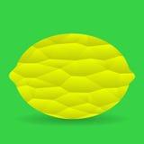 Icono del limón Imagen de archivo libre de regalías