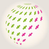 Icono del logotipo, elemento del logotipo Foto de archivo libre de regalías