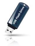Icono del mecanismo impulsor del flash del USB Foto de archivo