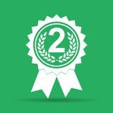 Icono del medallón del vector Foto de archivo