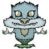 Icono del monstruo Fotografía de archivo libre de regalías