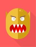 Icono del monstruo Imagen de archivo