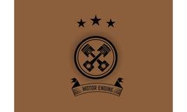 Icono del motor Imagen de archivo