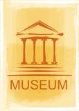 Icono del museo Fotos de archivo