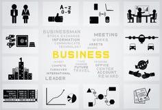Icono del negocio ilustración del vector