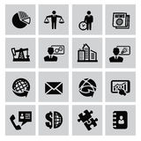 Icono del negocio Fotografía de archivo libre de regalías