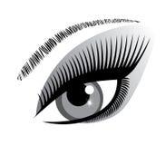 Icono del ojo del vector ilustración del vector