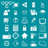 Icono del ordenador Imagen de archivo libre de regalías