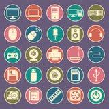 Icono del ordenador Fotos de archivo