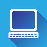 Icono del ordenador stock de ilustración