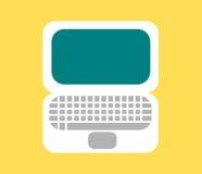 Icono del ordenador portátil Fotos de archivo