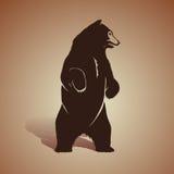 Icono del oso Foto de archivo libre de regalías