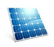 Icono del panel solar stock de ilustración