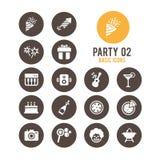 Icono del partido Ilustración del vector libre illustration
