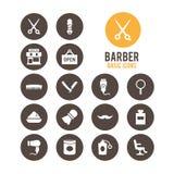 Icono del peluquero Ilustración del vector Imagen de archivo libre de regalías