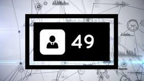 Icono del perfil con los gráficos