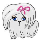 Icono del perro de la historieta. pintura linda del animal doméstico Fotografía de archivo