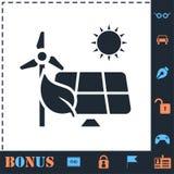 Icono del poder de Eco completamente libre illustration