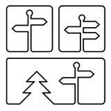 Icono del poste indicador Libre Illustration