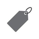 Icono del precio Fotografía de archivo libre de regalías