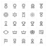 """Icono del premio del †determinado de Mini Icon """" stock de ilustración"""