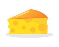 Icono del queso Imagen de archivo