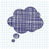 Icono del reclamo del drenaje de la mano del vector Imagen de archivo libre de regalías
