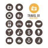 Icono del recorrido Ilustración del vector Fotografía de archivo libre de regalías