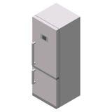 Icono del refrigerador Web del icono del refrigerador Fotos de archivo