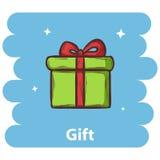 Icono del regalo Fotos de archivo libres de regalías